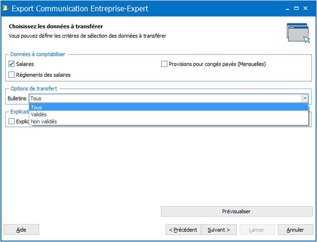 module communication entreprise expert ebp