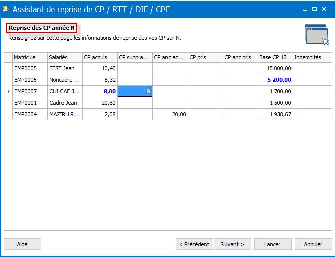 Modifier Les Elements Du Compteur Cp Dans Ebp Paie Open Line Ebp